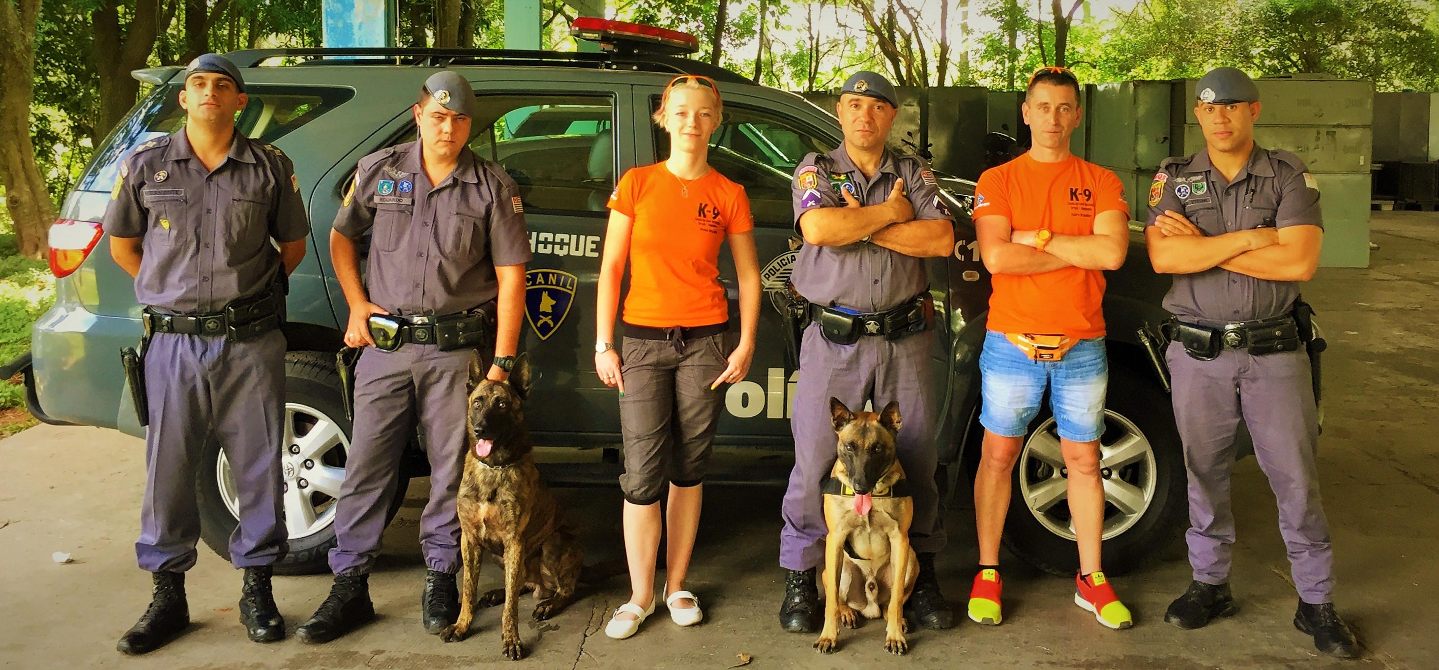 Canil do Policia Militar und K-9 Spürhundeschule Deutschland